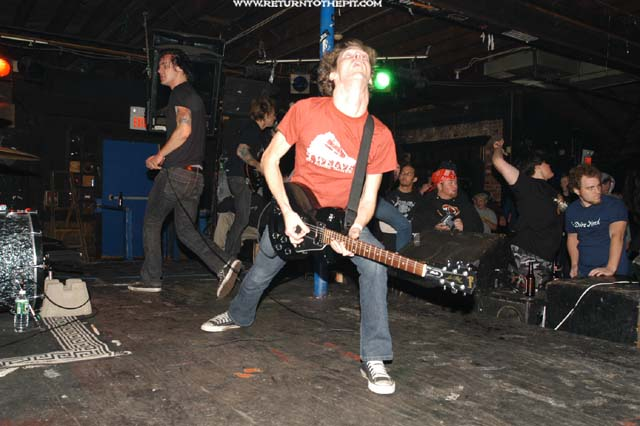 [as I Lay Dying On Oct 24, 2003 At The Living Room (Providence Part 45