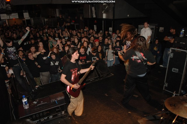 [suicide silence on Apr 28, 2006 at the Palladium - secondstage (Worcester, Ma)]