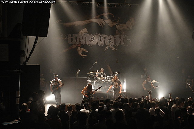 [unearth on Apr 4, 2010 at the Palladium (Worcester, MA)]